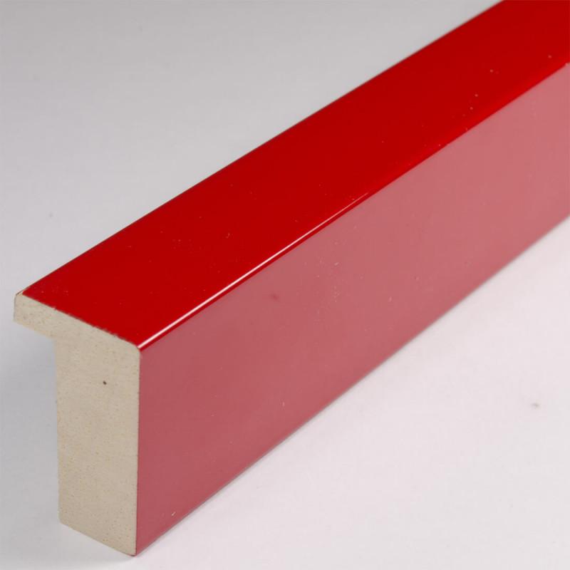 ASO107.63.076 20x32 - jasnoczerwona lakierowana blejtramówka do zdjęć i obrazów