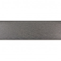 SCO492/317 32x20 - laminowana srebrna drapana rama do obrazów i luster 3