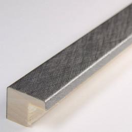 SCO2010/317 15x14 - srebrna drapana ramka laminowana do zdjęć 2