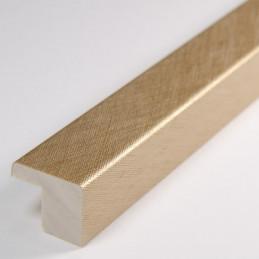 SCO2010/318 15x14 - złota drapana ramka laminowana do zdjęć