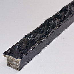 SCO991/308  25x27 -  czarna rama do obrazów z ornamentem