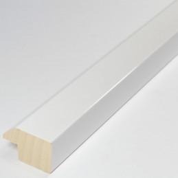 ABI830.430 30x20 - biała lakierowana rama do obrazów ze skosem