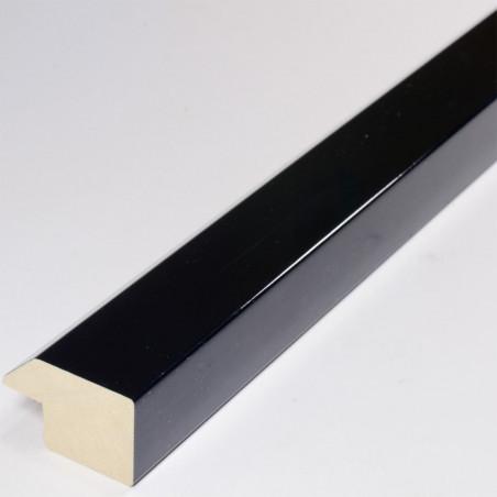 ABI830.431 30x20 - czarna lakierowana rama do obrazów ze skosem