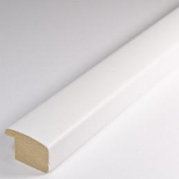 ASO127.43.009 23x14 - biała matowa rama do zdjęć