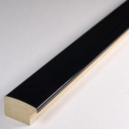 ASO127.43.545 23x14 - czarna lakierowana rama do obrazów 2