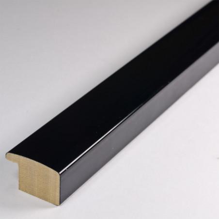 ASO127.43.545 23x14 - czarna lakierowana rama do obrazów