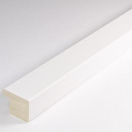 ASO148.43.009  20x15 - biała matowa rama do obrazów i luster