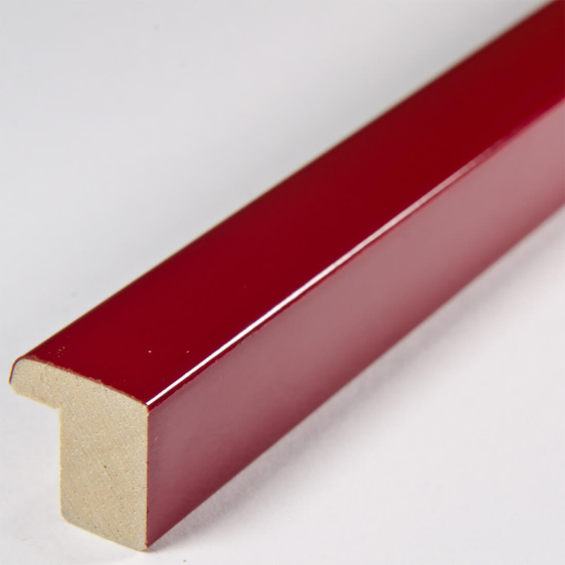 ASO127.31.046 14x15 - mała czerwona lakowana ramka autore 4