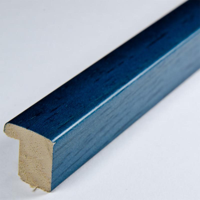 ASO127.31.098 14x15 - niebieska matowa  ramka autore