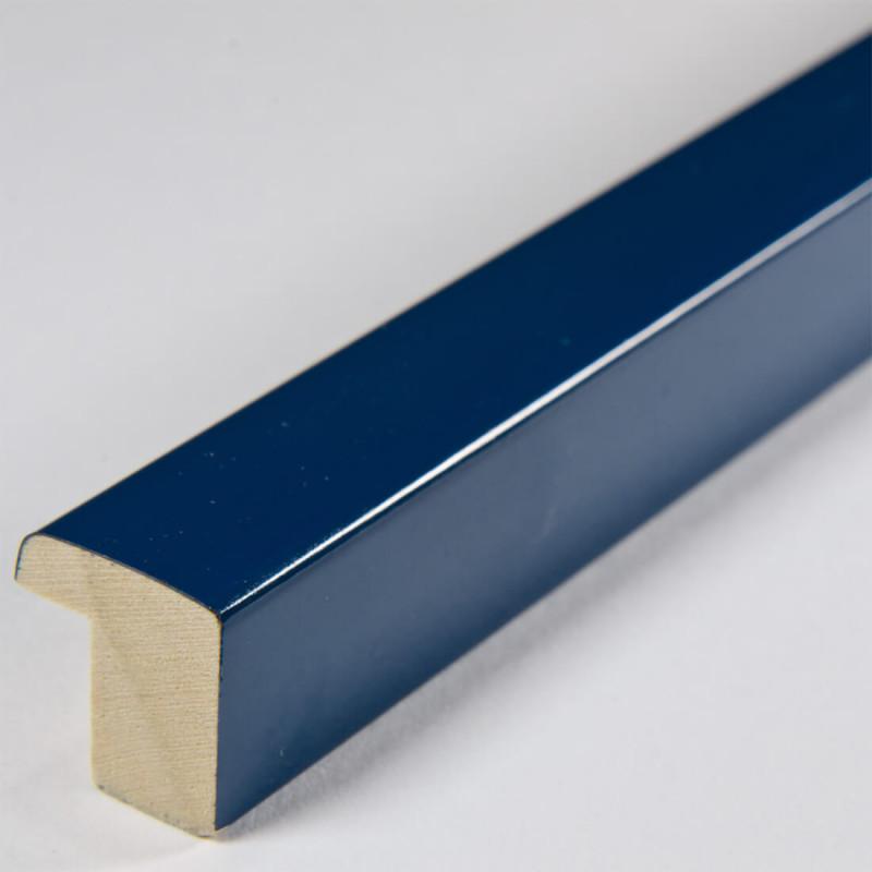 ASO127.33.032 14x15 - niebieska lakowana ramka do obrazków - kobalt