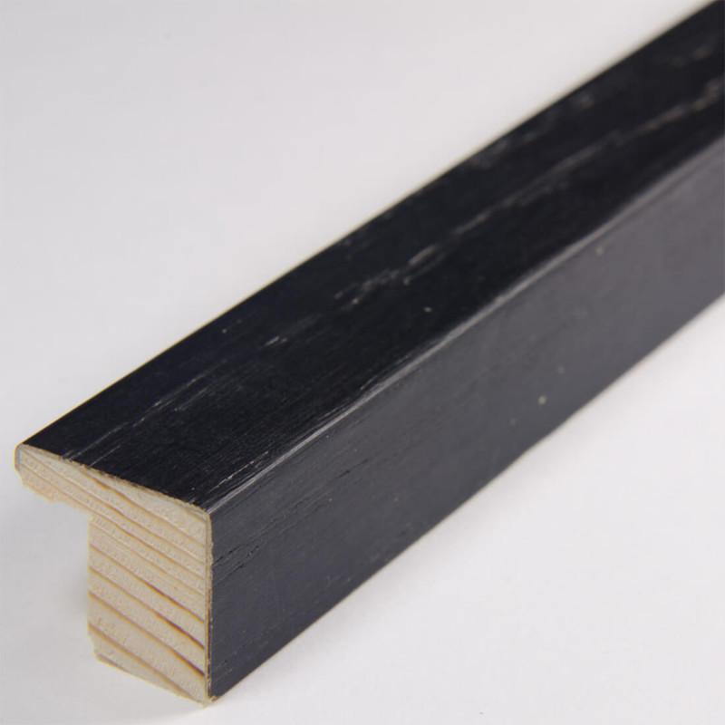 ABI1515.1 15x15 - czarna okleina ramka do zdjęć i obrazków