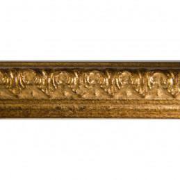 SCO513/15 16x20 - staro złota ramka do zdjęć i obrazków z ornamentem 3