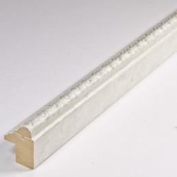SCO513/309 16x20 - biała ramka do zdjęć z ornamentem
