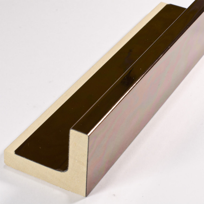 SCO6015/58 50x40 - american box miedziana rama do obrazów wysoki połysk