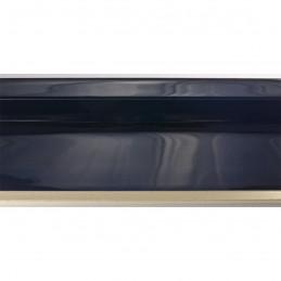 SCO6015/48 50x40 - american box czarna laminowana rama do obrazów wysoki połysk 3