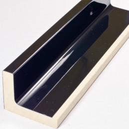 SCO6015/48 50x40 - american box czarna laminowana rama do obrazów wysoki połysk 2