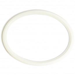 RO/6 MDF biała owalna rama MDF