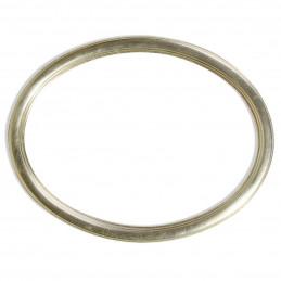 RO/9 MDF srebrna owalna rama MDF