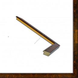 ASO243.51.181 25x25 - wąska arte powera korzeń orzechowa rama do zdjęć i luster sample3