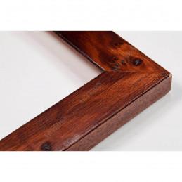 ASO243.51.181 25x25 - wąska arte powera korzeń orzechowa rama do zdjęć i luster