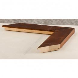 ASO243.81.181 42x14 - drewniana arte powera korzeń orzechowa rama do obrazów i luster sample