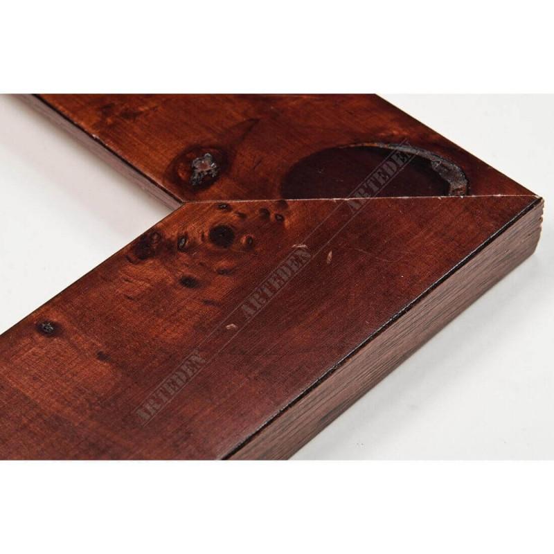 ASO243.81.181 42x14 - drewniana arte powera korzeń orzechowa rama do obrazów i luster