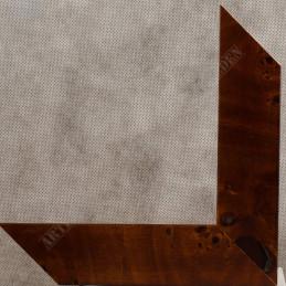 ASO243.81.181 42x14 - drewniana arte powera korzeń orzechowa rama do obrazów i luster sample2