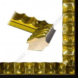ASO336.44.043 60x45 - drewniana złota rama do obrazów i luster