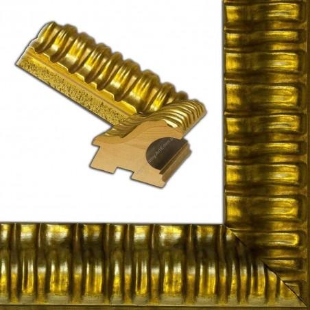 ASO338.84.043 90x85 - szeroka złota rama do obrazów i luster