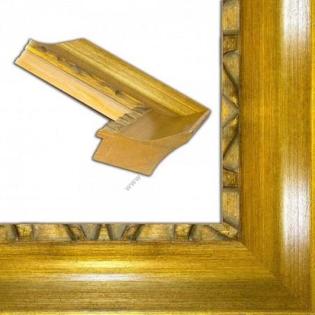 ASO347.64.043 90x70 - szeroka złota rama do obrazów i luster