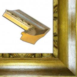ASO347.64.044 90x70 - szeroka srebrna rama do obrazów i luster